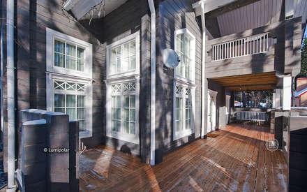 Внешний фасад Elizabeth: Деревянные дома в . Автор – LUMI POLAR