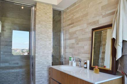 078 | Residenza: Bagno in stile in stile Scandinavo di Giacomo Zanelli - Architetto
