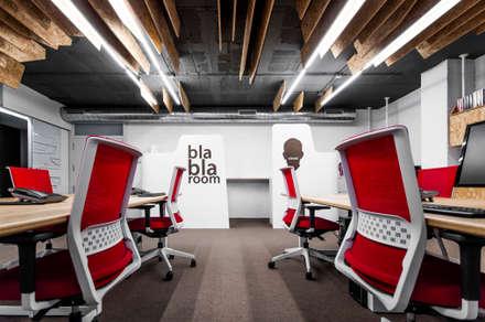 Oficinas Óptima: Edificios de oficinas de estilo  de Antonio Macia A&D