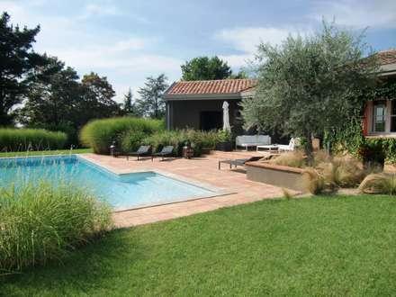 สวน by KAEL Createur de jardins