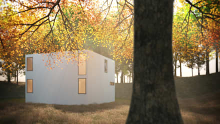 minimalistic Houses by ARA
