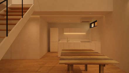 minimalistic Kitchen by ARA