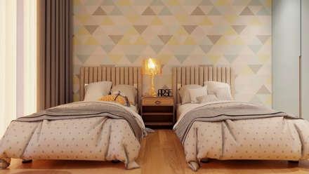 Апартаменты у моря : Детские спальни в . Автор – Dinastia Designs