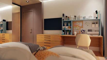 Teen bedroom by Dinastia Designs