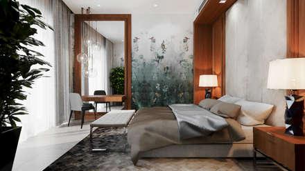 Dormitorios de estilo ecléctico por Dinastia Designs