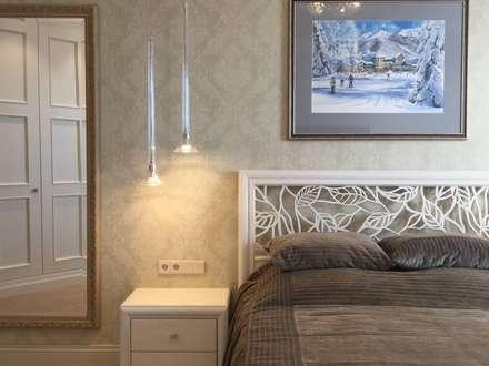 Современная классика: Спальни в . Автор – Dinastia Designs
