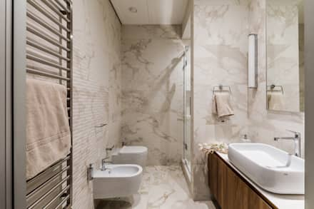 eclectic Bathroom by Dinastia Designs