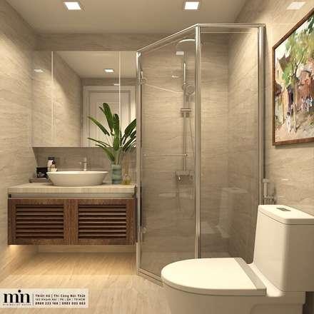 Baños de estilo minimalista por Min Decor