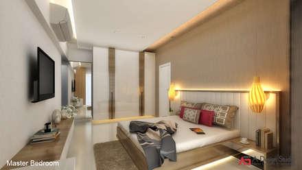 bedroom interior design ideas. MASTER BEDROOM: Modern Bedroom By A Design Studio Interior Ideas