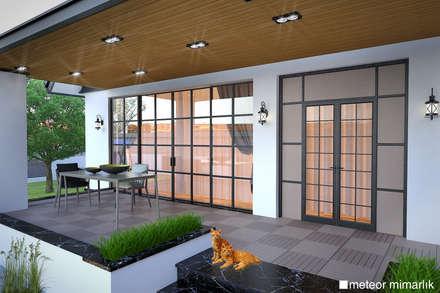 Meteor Mimarlık & Tasarım – VİLLA: modern tarz Evler