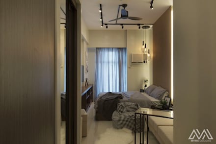 Brooklyn Vibe - The Currency:  Corridor and hallway by MVRX Designs
