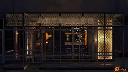 Дизайн интерьера кальянной в Киеве: Коммерческие помещения в . Автор – Art-i-Chok