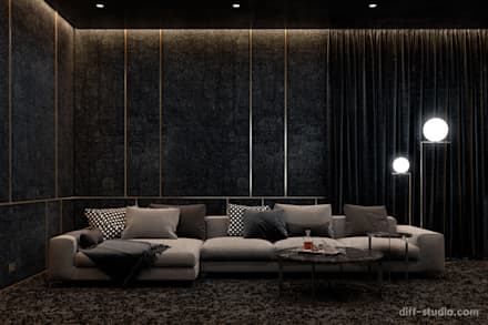 Home cinema in Paris: Электроника в . Автор – Diff.Studio