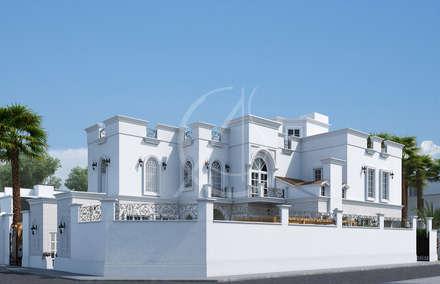 Side View:  Villas by Comelite Architecture, Structure and Interior Design