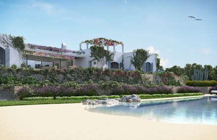 Can Abi: Villa in stile  di architetto stefano ghiretti