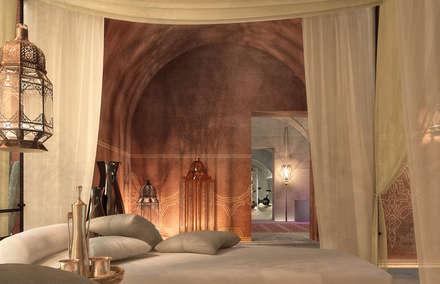 Can Abi: Sauna in stile  di architetto stefano ghiretti