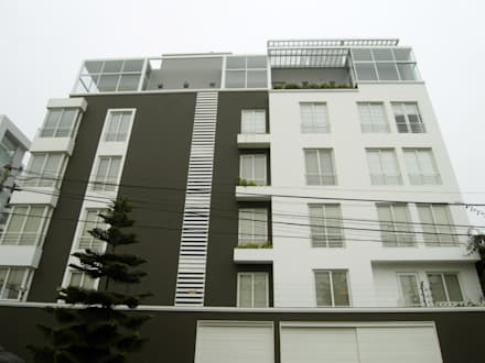 Penthouse Barranco: Casas de estilo moderno por Artem arquitectura