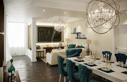 Dining Area: Country Dining Room By Comelite Architecture, Structure And  Interior Design
