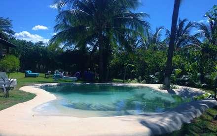 Swimming pond by Bebig Brasil. Piscinas de Areia