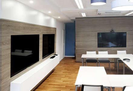 Büroumbau C:  Bürogebäude von Betz Interiors