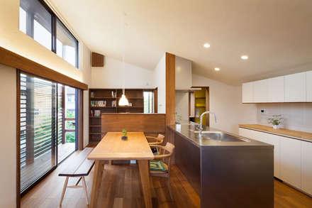 غرفة السفرة تنفيذ HAN環境・建築設計事務所