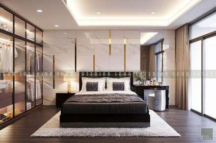 Sarica ~ Khu đô thị Sala:  Phòng ngủ by ICON INTERIOR