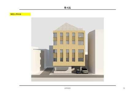 SSD 656 성수동 상가주택 건축 설계: atelier longo 아뜰리에 롱고의  다가구 주택