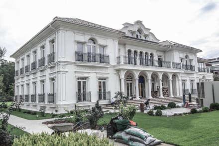 фасад из архбетона: Вилла в . Автор – qoD.design архитектурная мастерская