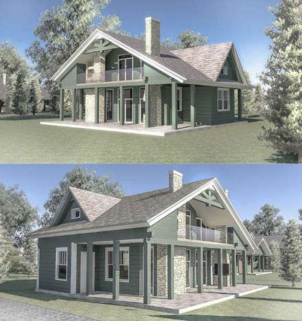 Condominios de estilo  por qoD.design архитектурная мастерская