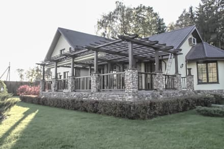 Rumah teras by qoD.design архитектурная мастерская