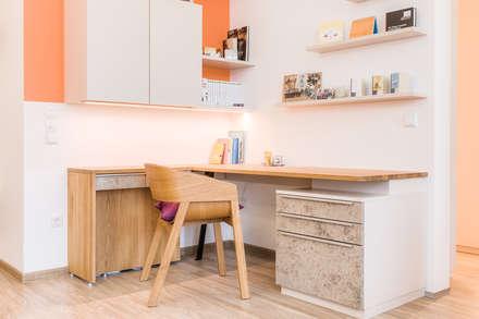 """Stadtwohnungen und Zweitwohnsitze –  muss ich auf das """"Zuhause-Gefühl"""" wirklich verzichten?  : ausgefallene Arbeitszimmer von Horst Steiner Innenarchitektur"""