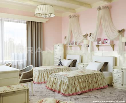 Phòng ngủ bé gái by Frandgulo