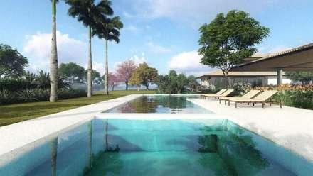 Front yard by Gisele Gaiguer Arquitetura Paisagística
