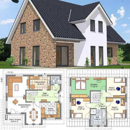Einfamilienhaus Lamstedt 1:  Einfamilienhaus von Kurt Buck Baugesellschaft