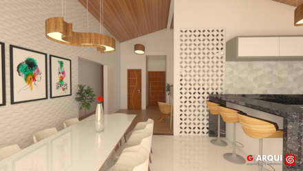 Rumah teras by G . Arqui - Arquitetura e Interiores