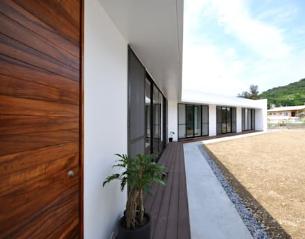 CBN-HOUSE: 門一級建築士事務所が手掛けた庭です。