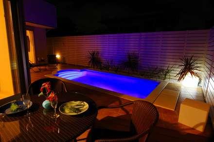 レアージュRハウス新百合ヶ丘 王禅寺邸: PROSPERDESIGN ARCHITECT OFFICE/プロスパーデザインが手掛けたプールです。