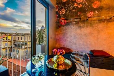 Borgo 48: Sala da pranzo in stile in stile Eclettico di Arabella Rocca Architettura e Design