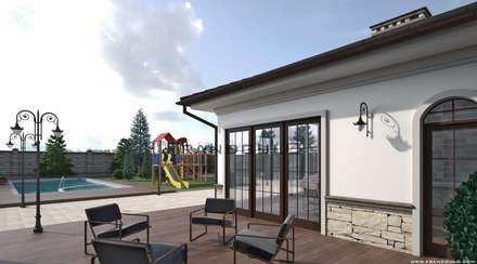 Усадьба в классическом стиле: Загородные дома в . Автор – Frandgulo