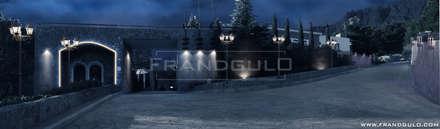Концепция освещения территории Резиденции Крымский Бриз: Гостиницы в . Автор – Frandgulo