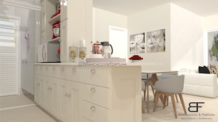 Kitchen units by Brancaccio & Fortuna - Arquitetura e Engenharia