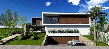 Detached home by RICARDO ROBERTO ARQUITETURA