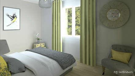 Chambre avec dressing: Chambre de style de style Moderne par MJ Intérieurs