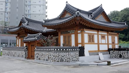 asian Houses by 건축사사무소 아키포럼