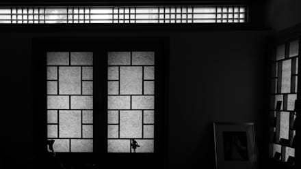명경재: 건축사사무소 아키포럼의  창문