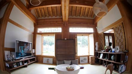 asian Media room by 건축사사무소 아키포럼