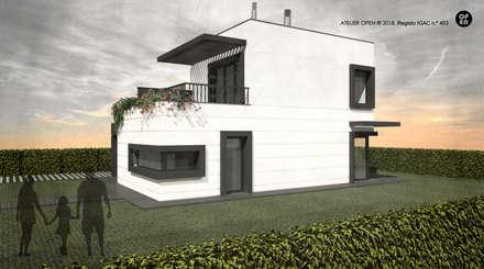 ATELIER OPEN ® - Arquitetura e Engenharia의  조립식 주택