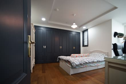 modern Bedroom by 제시카디자인그룹
