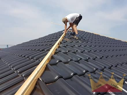 Neubau in Bruchmühlen :  Dach von Dachdeckermeisterbetrieb Dirk Lange