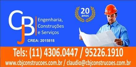 บ้านเดี่ยว by CBJ Construções e Serviços
